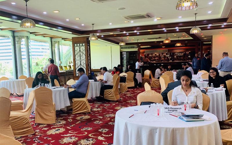 Q&Q takes part in the MRSI Connect 2019 in Mumbai